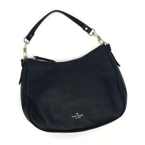 Black Leather Kate Spade Shoulder Bag